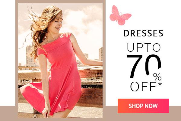 Dresses Upto 70% Off