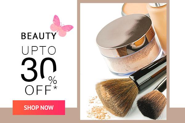 Beauty Upto 30% Off