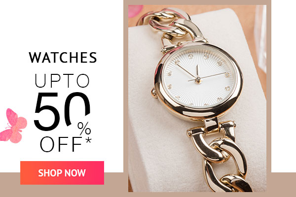 Watches Upto 50% Off