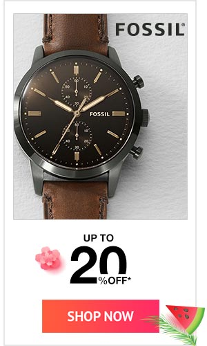 Fossil Up to 20% Off