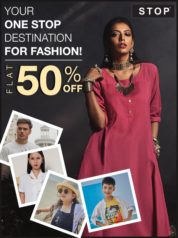 Stop Flat 50% Off