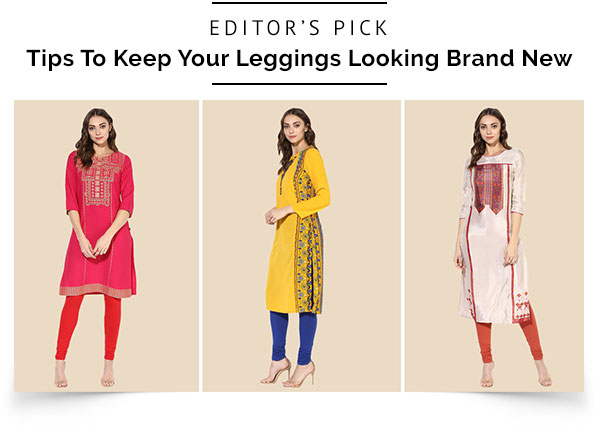 Tips to keep your leggings looking brand new