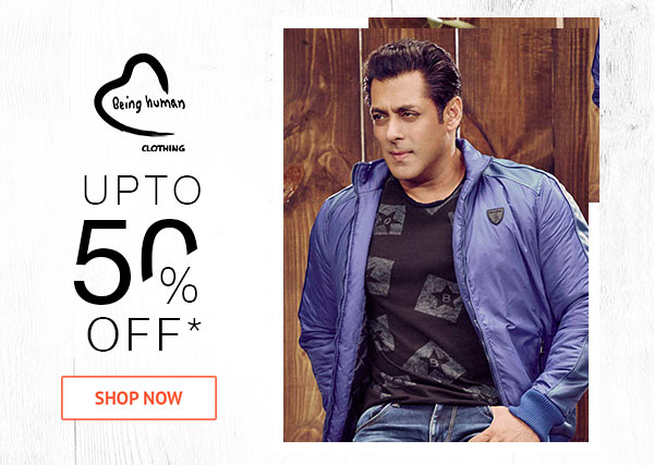Being Human Upto 50% Off